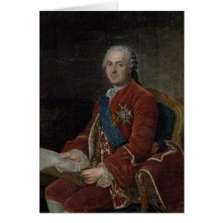 Portrait of the Dauphin Louis de France Card