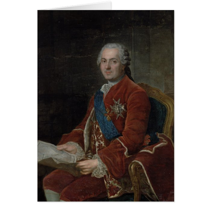 Portrait of the Dauphin Louis de France Card