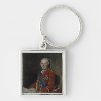 Portrait of the Dauphin Louis de France Keychain