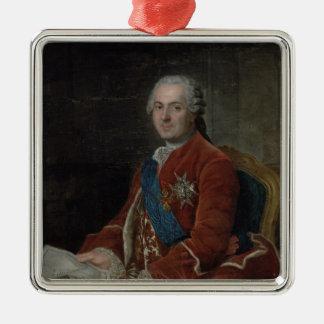 Portrait of the Dauphin Louis de France Metal Ornament