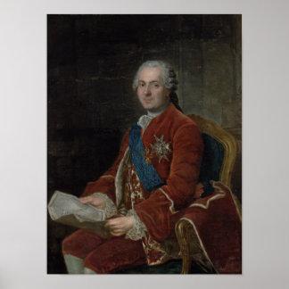 Portrait of the Dauphin Louis de France Print