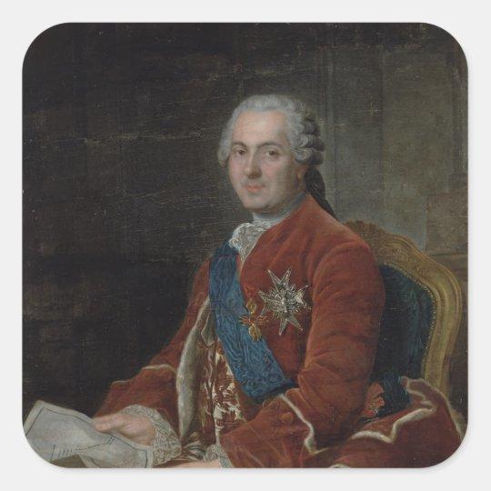 Portrait of the Dauphin Louis de France Square Sticker