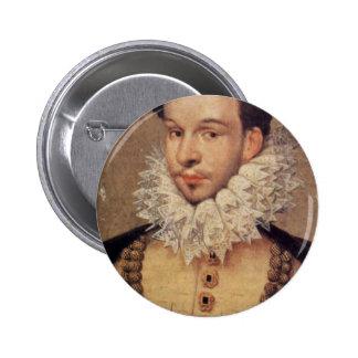 Portrait Of The Duc D Alençon Oval By Hilliard Nic Pins