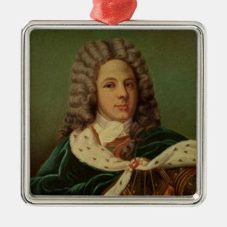 Portrait of the Duc de Saint-Simon Metal Ornament