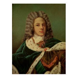 Portrait of the Duc de Saint-Simon Post Card
