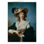 Portrait of the Duchess of Polignac Greeting Cards