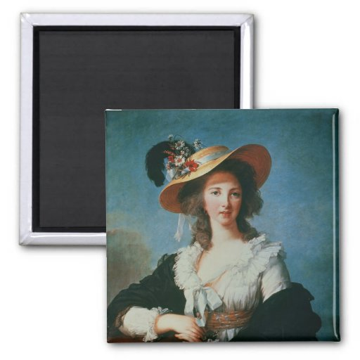 Portrait of the Duchess of Polignac Magnet