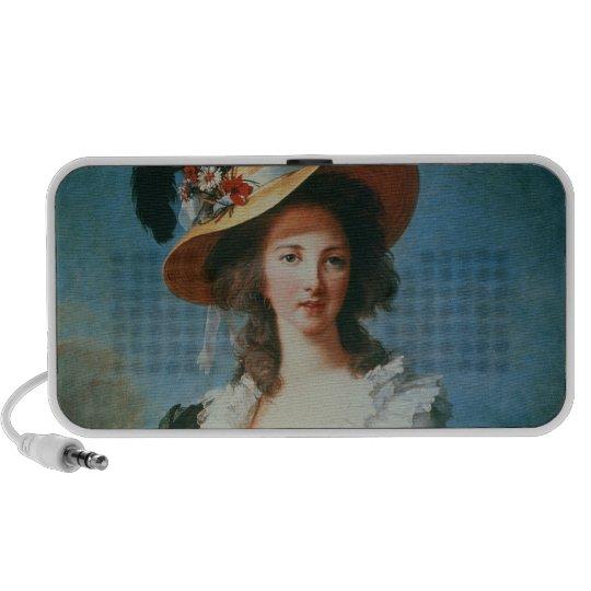 Portrait of the Duchess of Polignac Portable Speaker