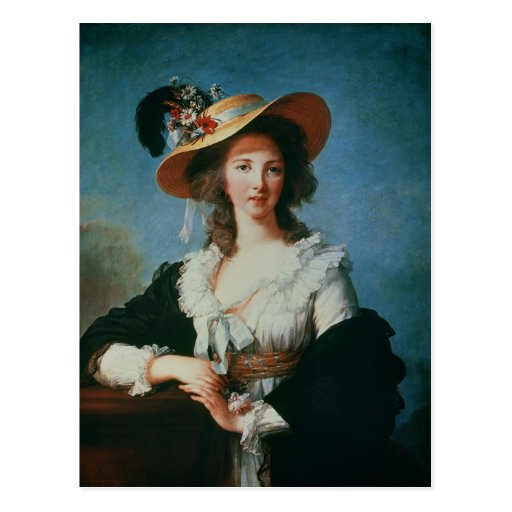 Portrait of the Duchess of Polignac Postcard