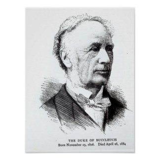 Portrait of the Duke of Buccleuch Poster