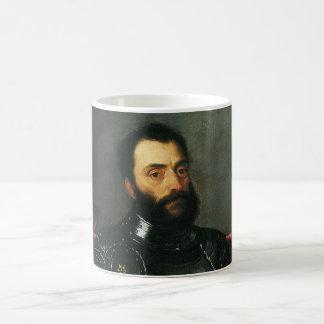 Portrait of the Duke of Urbino by Titian Coffee Mug