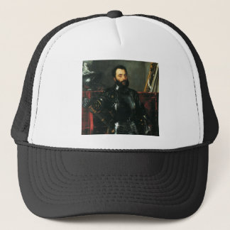 Portrait of the Duke of Urbino by Titian Trucker Hat