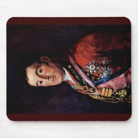 Portrait Of The Duke Of Wellington Mouse Pad