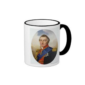 Portrait of the Duke of Wellington Ringer Coffee Mug