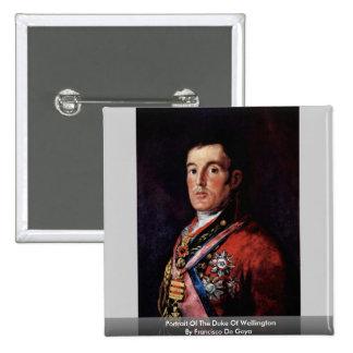 Portrait Of The Duke Of Wellington Pin