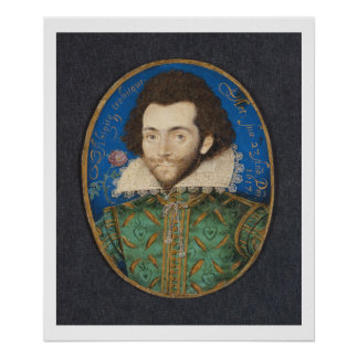Portrait of the Earl of Pembroke, 1617 Poster