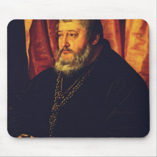 Portrait of the Elector Palatine Otto Henry Mouse Pad