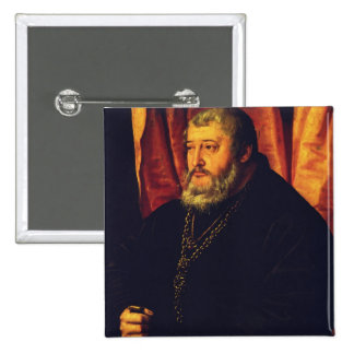 Portrait of the Elector Palatine Otto Henry Pinback Button