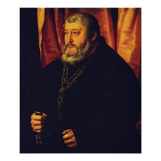 Portrait of the Elector Palatine Otto Henry Poster