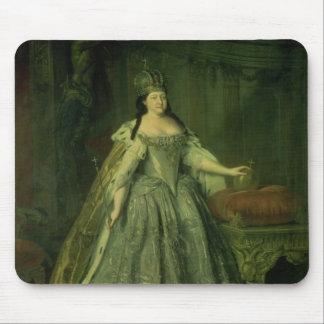 Portrait of the Empress Anna Ivanovna  1730 Mouse Pad