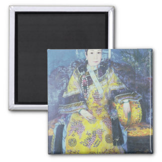 Portrait of the Empress Dowager Cixi Magnet