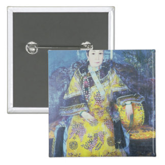 Portrait of the Empress Dowager Cixi Pinback Button