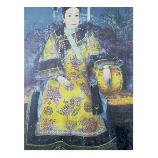Portrait of the Empress Dowager Cixi Postcard