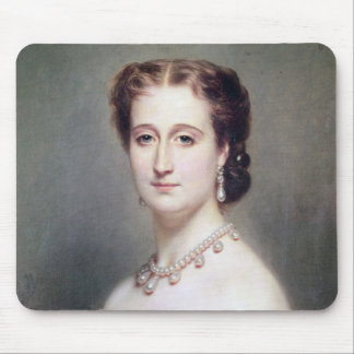 Portrait of the Empress Eugenie Mouse Pad