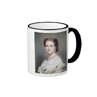 Portrait of the Empress Eugenie Ringer Coffee Mug