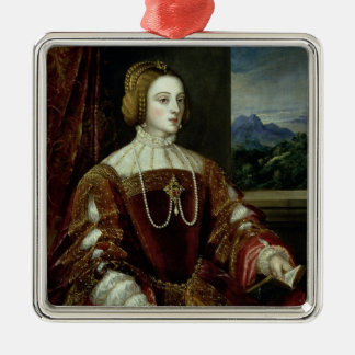Portrait of the Empress Isabella of Portugal Metal Ornament