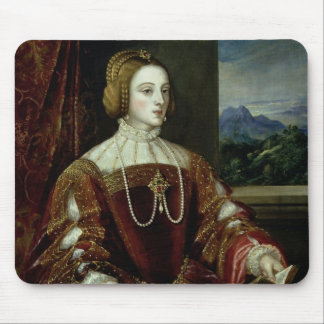 Portrait of the Empress Isabella of Portugal Mouse Pad