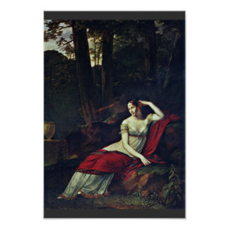 Portrait Of The Empress Josephine By Prud'Hon Pier Poster