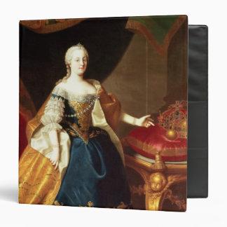 Portrait of the Empress Maria Theresa Binder
