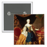 Portrait of the Empress Maria Theresa Pinback Button