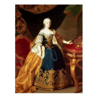 Portrait of the Empress Maria Theresa Postcard