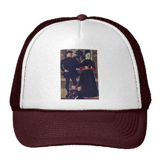 Portrait Of The Family Van Gindertaelen By Meister Trucker Hat