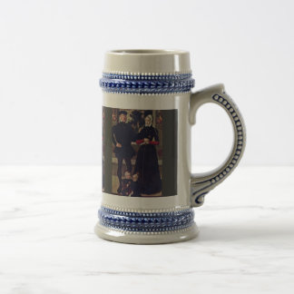 Portrait Of The Family Van Gindertaelen By Meister Coffee Mug