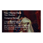 Portrait Of The French King Louis Xiv By Rigaud Hy Business Card Template