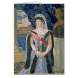 Portrait of the Grand Duchess Maria Pavlovna Card