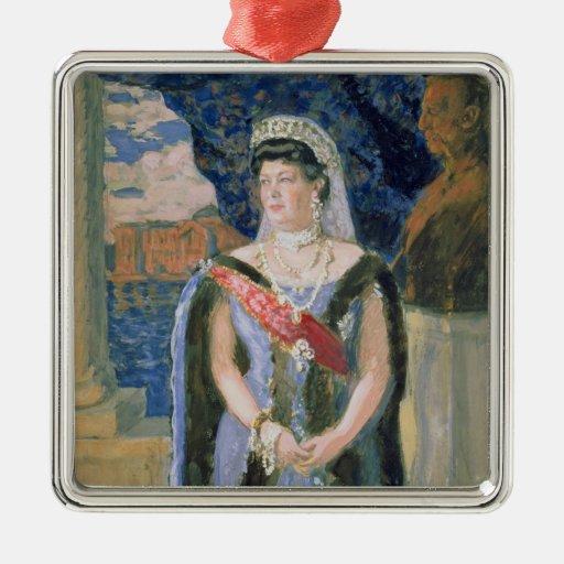 Portrait of the Grand Duchess Maria Pavlovna Metal Ornament