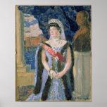 Portrait of the Grand Duchess Maria Pavlovna Poster