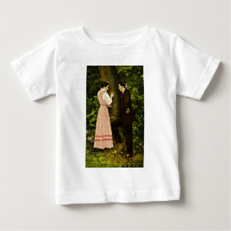 Portrait of the Heart He'd Share Baby T-Shirt