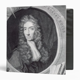 Portrait of the Honorable Robert Boyle 3 Ring Binder