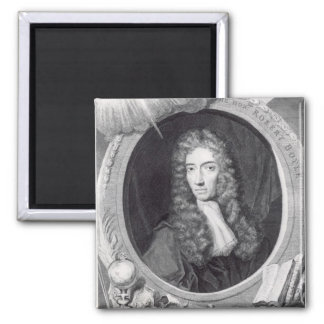 Portrait of the Honorable Robert Boyle Magnet