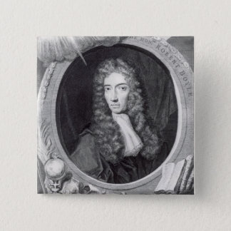 Portrait of the Honorable Robert Boyle Pinback Button