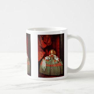 Portrait Of The Infanta Margarita As A Young Girl Coffee Mug