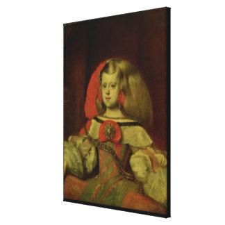 Portrait of the Infanta Margarita Canvas Print