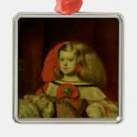 Portrait of the Infanta Margarita Metal Ornament