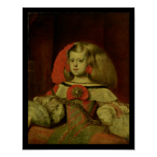 Portrait of the Infanta Margarita Poster