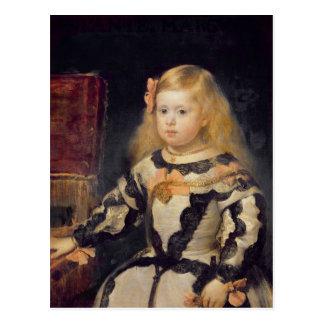 Portrait of the Infanta Maria Marguerita  1654 Postcard